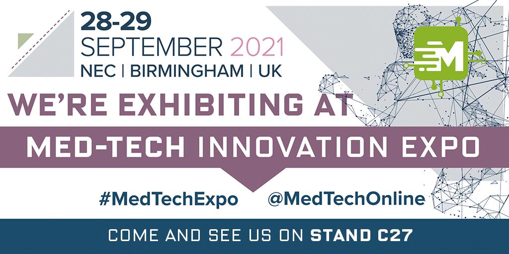 Sep. 28 - 29 Asahi Intecc Europe will exhibit at Med-Tech Innovation Expo